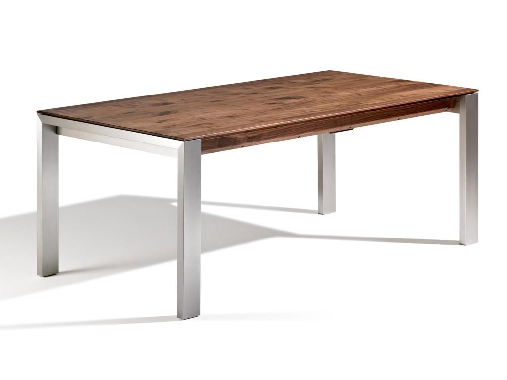 Metallfuß Tisch Rund.Esstische Aus Holz Und Metall Nach Den Eigenen Wünschen